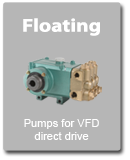 Floating Pumps for VFD